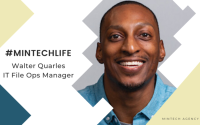 MinTech Life: Walter Quarles, IT File Ops Manager